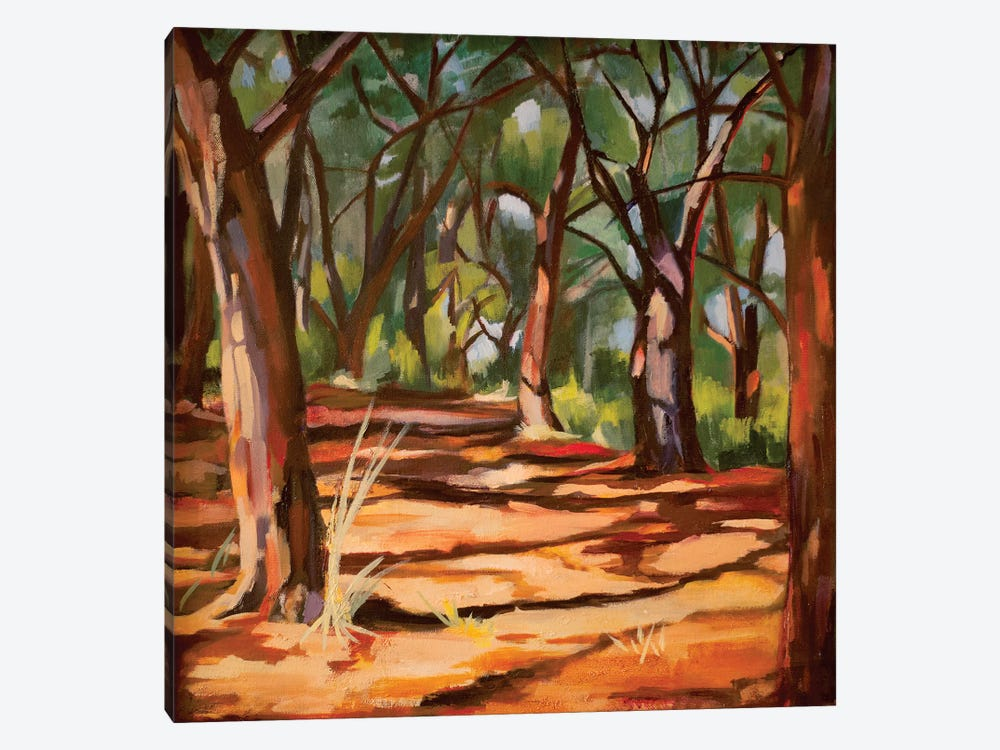 Cape Cod Woods by Maxine Shore 1-piece Canvas Artwork