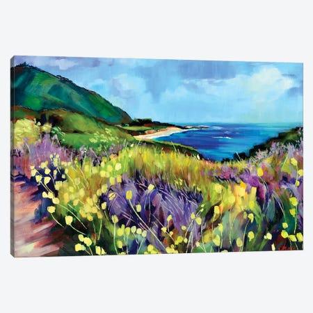 California's Route 1 Canvas Print #SHO63} by Maxine Shore Canvas Art Print