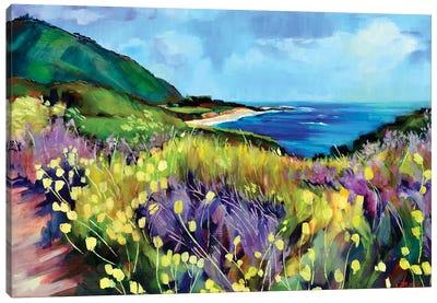 California's Route 1 Canvas Art Print