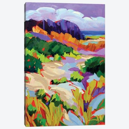 Over the Dunes Canvas Print #SHO64} by Maxine Shore Canvas Wall Art