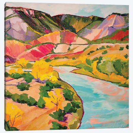 Chama River Canvas Print #SHO6} by Maxine Shore Canvas Art