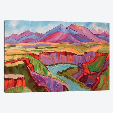 Southwest Color Canvas Print #SHO71} by Maxine Shore Canvas Art