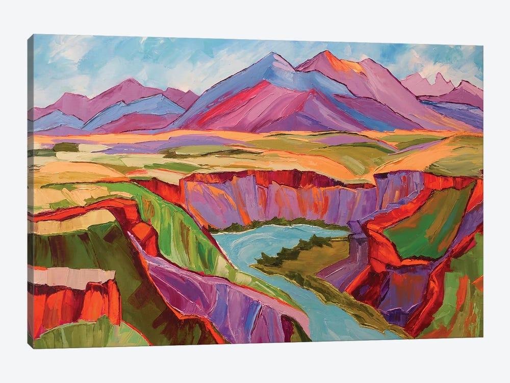 Southwest Color by Maxine Shore 1-piece Canvas Art Print
