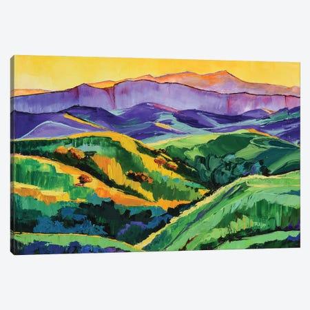 Green Valley Canvas Print #SHO76} by Maxine Shore Canvas Print