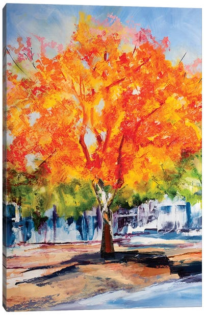 Fall Foliage Canvas Art Print