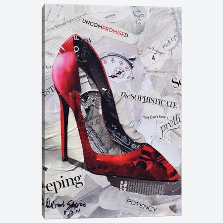 Can't Stop Pretty Canvas Print #SHP3} by Deborah Shapiro Canvas Print