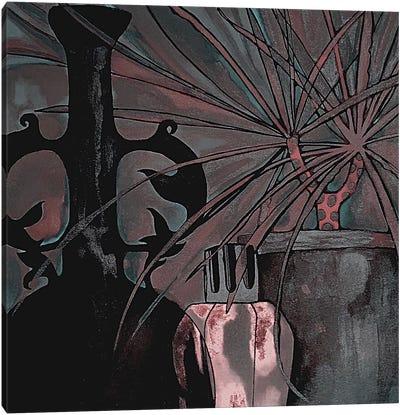 Dark Vase Canvas Art Print