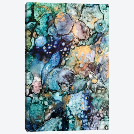 Earth Abstract Canvas Print #SHW25} by Mishel Schwartz Canvas Wall Art