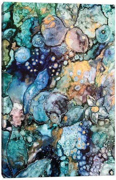 Earth Abstract Canvas Art Print