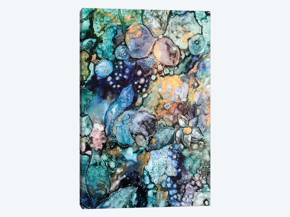 Earth Abstract by Mishel Schwartz 1-piece Canvas Art
