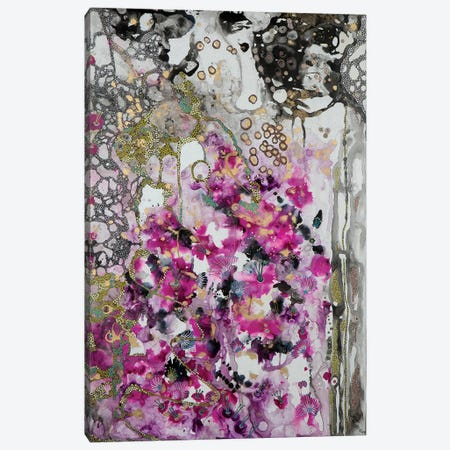 Falling Canvas Print #SHW26} by Mishel Schwartz Canvas Art