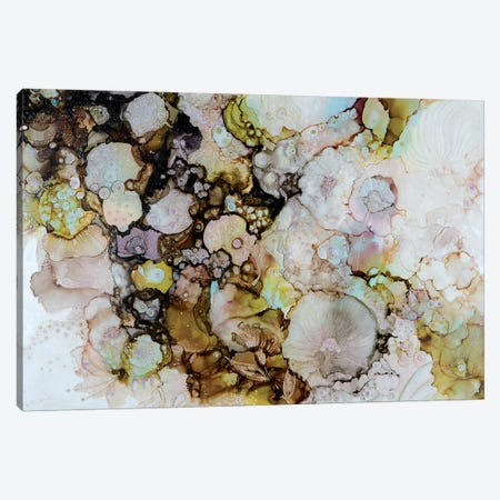 Fantasies Canvas Print #SHW29} by Mishel Schwartz Canvas Print