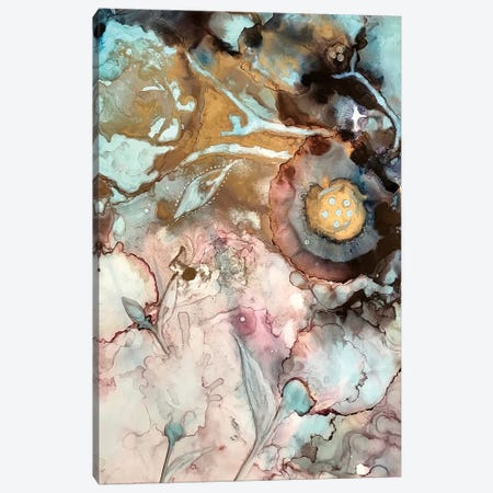 Garden Abstract I Canvas Print #SHW32} by Mishel Schwartz Canvas Wall Art