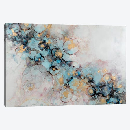 The Garden Canvas Print #SHW61} by Mishel Schwartz Art Print