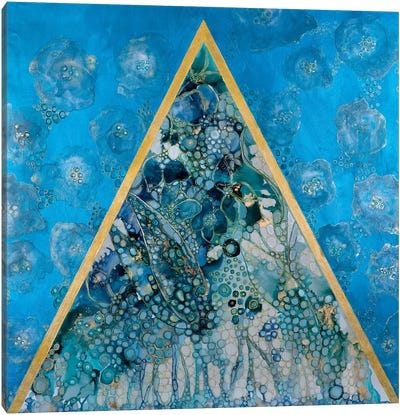Triangle Pose Canvas Art Print