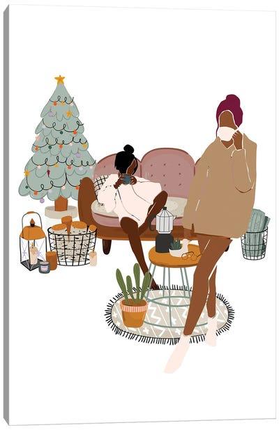 Christmas Holidays Canvas Art Print