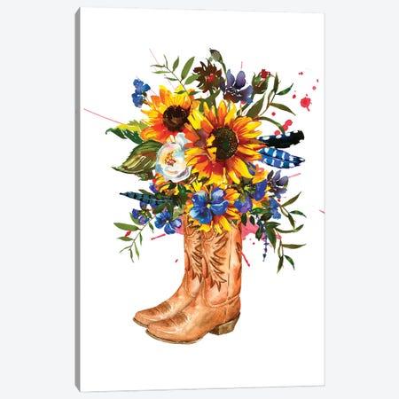 Western Boots Canvas Print #SHZ22} by Jania Sharipzhanova Canvas Art