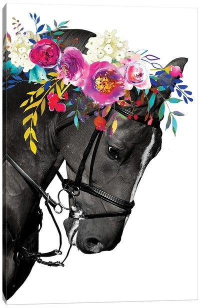Horse Head Wall Art Canvas Art Print