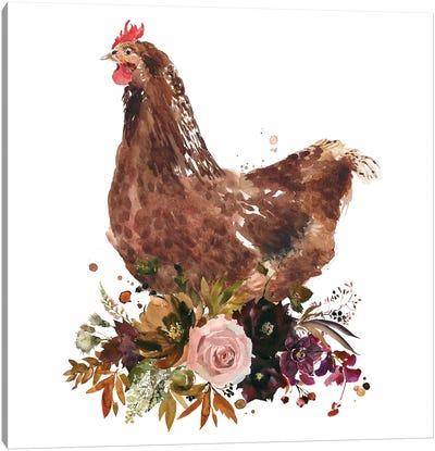 Chicken Art Print Canvas Art Print