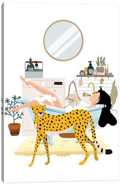 Cheetah Urban Jungles Series Canvas Art Print