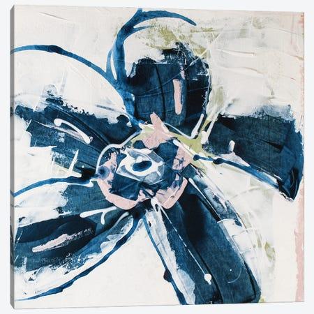 Blossom Blue I Canvas Print #SIA13} by Sia Aryai Art Print