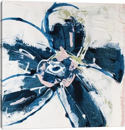 Blossom Blue I Canvas Art Print