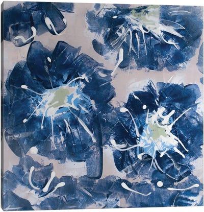 Blossom Blue II Canvas Art Print