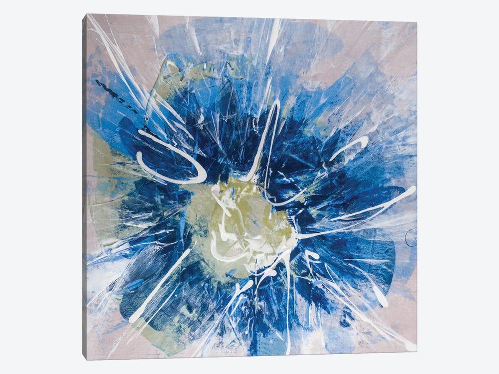 Blossom Blue III by Sia Aryai 1-piece Canvas Art