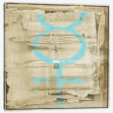 The Deities, Mercury Canvas Print #SIA9} by Sia Aryai Canvas Artwork