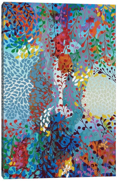 Vreni's Stories Canvas Art Print
