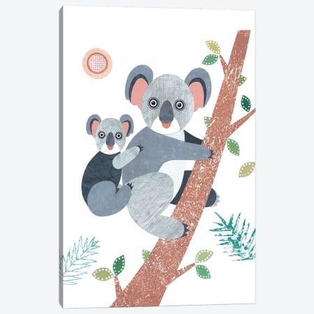 Koala Canvas Print #SIH100} by Simon Hart Canvas Art Print
