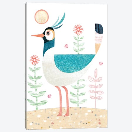 Lapwing Canvas Print #SIH102} by Simon Hart Canvas Art Print
