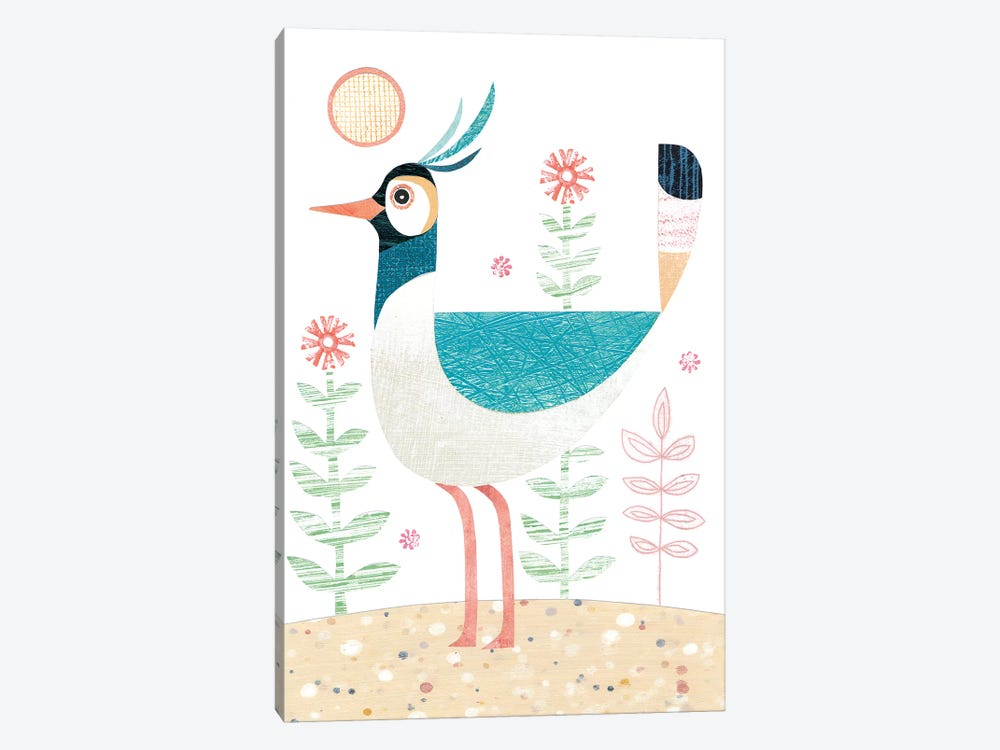 Lapwing by Simon Hart 1-piece Canvas Wall Art