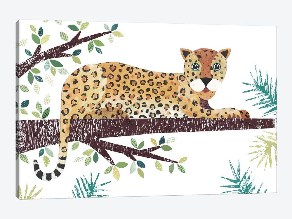 Leopard by Simon Hart 1-piece Canvas Art Print