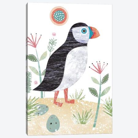 Puffin Canvas Print #SIH119} by Simon Hart Canvas Art