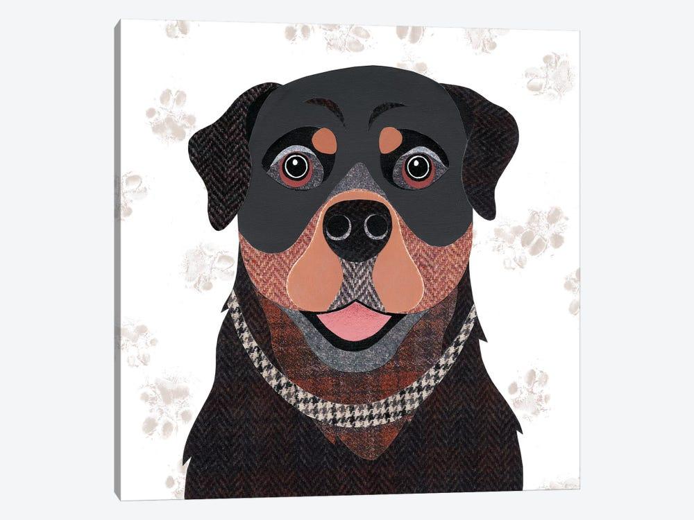 Rottweiler by Simon Hart 1-piece Canvas Print