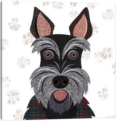Scottie Canvas Art Print