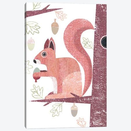 Squirrel Canvas Print #SIH132} by Simon Hart Canvas Artwork