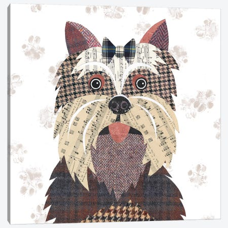 Yorkshire Terrier Canvas Print #SIH141} by Simon Hart Canvas Art Print