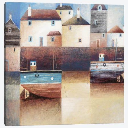 Low Tide Canvas Print #SIH14} by Simon Hart Art Print