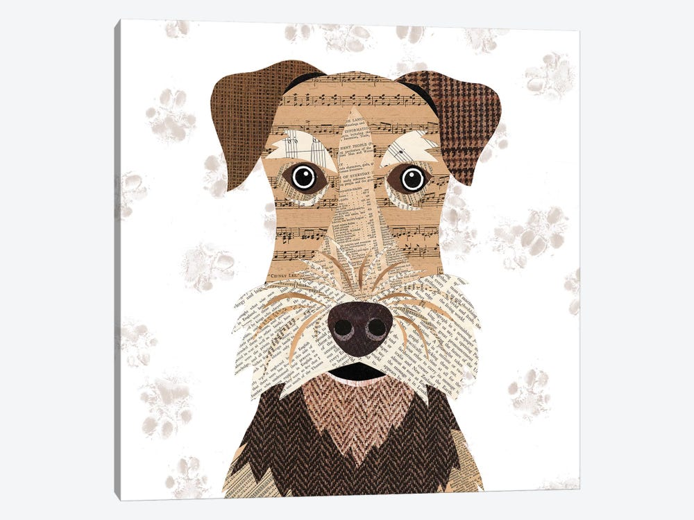 Airedale 1-piece Canvas Wall Art