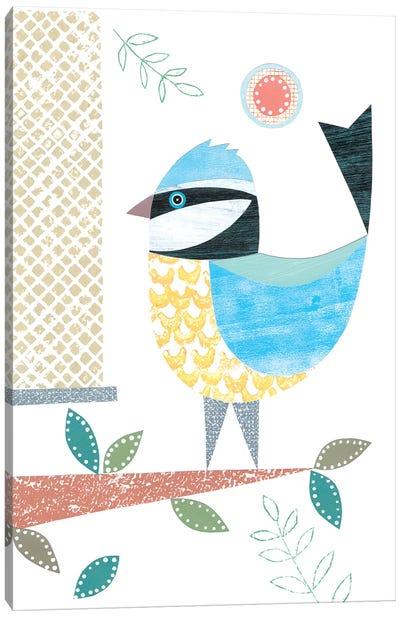 Bluetit Canvas Art Print