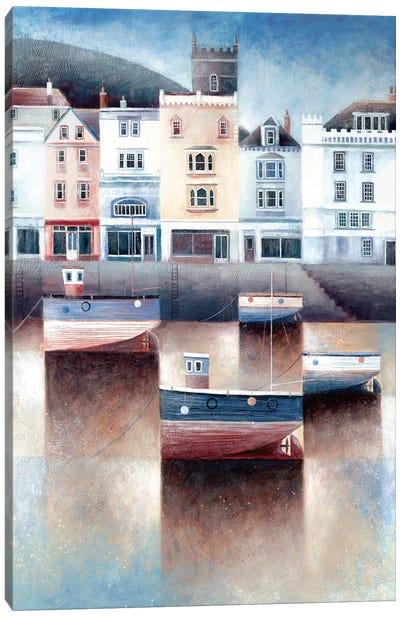 The Boatfloat Canvas Art Print