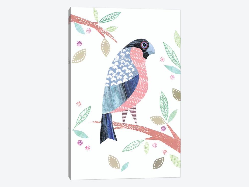 Bullfinch by Simon Hart 1-piece Canvas Print