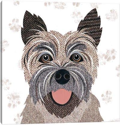 Cairn Terrier Canvas Art Print