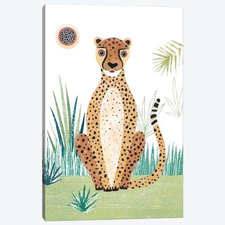 Cheetah Canvas Print #SIH55} by Simon Hart Canvas Print