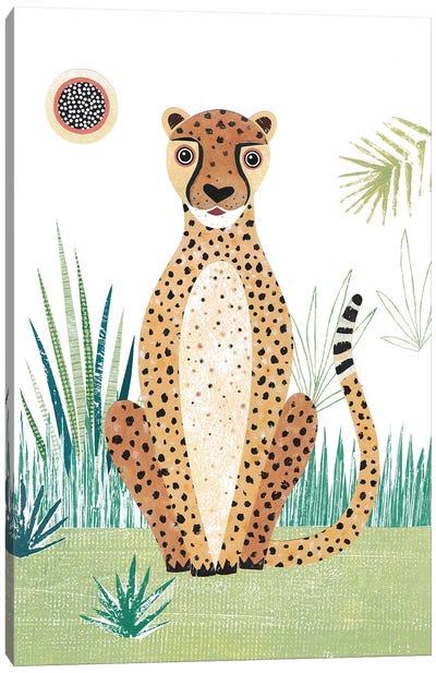 Cheetah Canvas Art Print