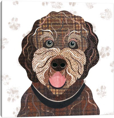 Cockapoo Canvas Art Print