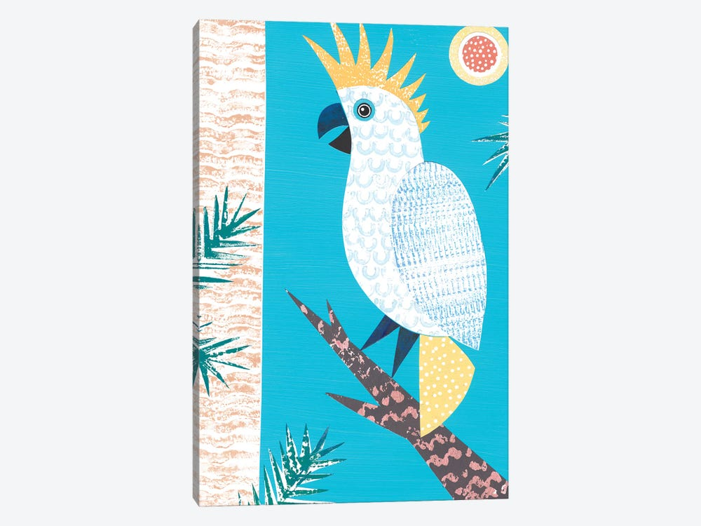 Cockatoo by Simon Hart 1-piece Canvas Wall Art
