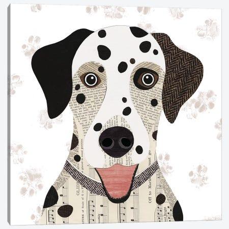 Dalmatian Canvas Print #SIH66} by Simon Hart Canvas Art